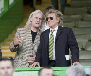 Celebrity Celtic Fan Billy Connelly