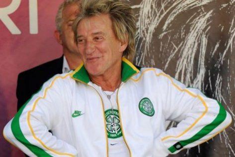 Rod Stewart Celtic's Biggest Celebrity Fan