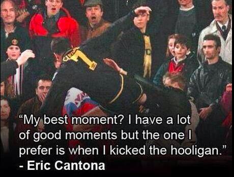 eric cantona kick