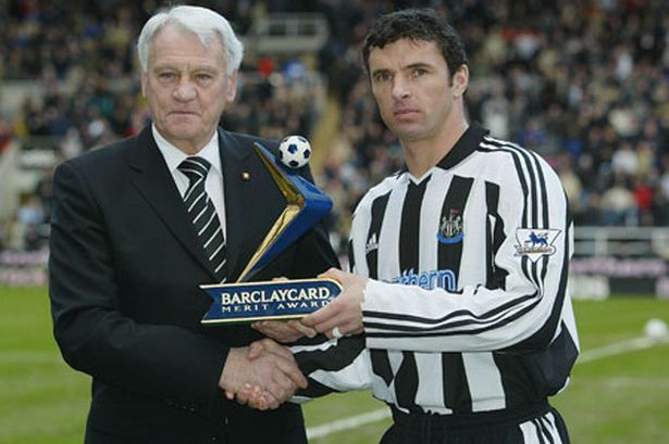Sir Bobby Robson and Gary Speed - Two late legends of the game.