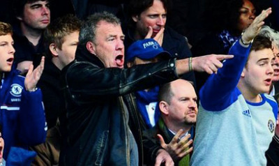 Clarkson really getting into it at the Bridge!