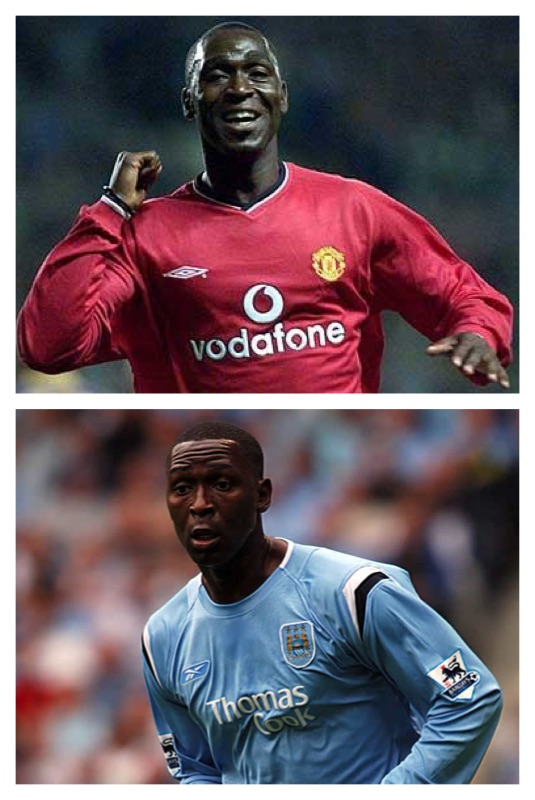 andy cole manchester City manchester united