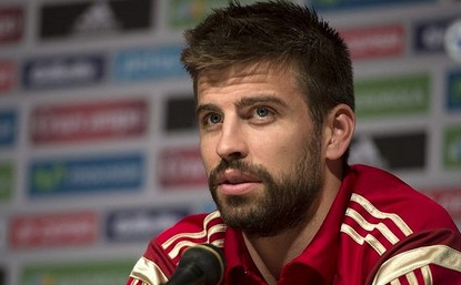 Colombian stunner Shakira thought Gerard Pique was such a fit footballer that she married him.