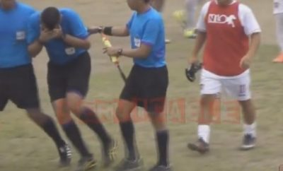 Referee beaten up by player in third division match in Guatemala