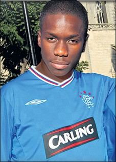 Tinchy Stryder Another Famous Rangers Fan