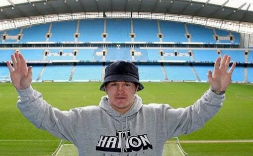 Lifelong manchester City Supporter Ricky Hatton