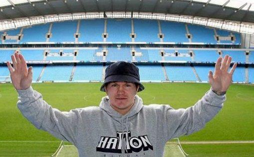 Lifelong manchester City Supporter Ricky Hatton