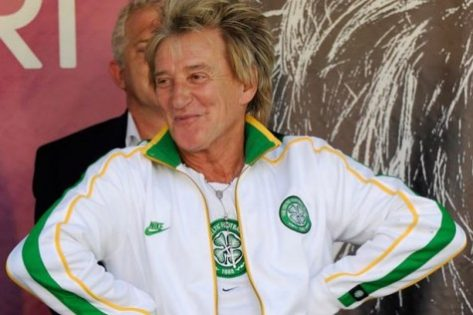 Rod Stewart Celtic's Biggest Celebrity Fan