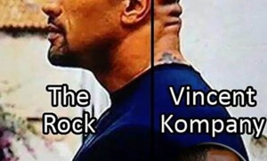 Crap Lookalikes: The Back Of The Rock's Head and Vincent Kompany