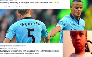 Vincent Kompany Banged Zabaleta's Wife & Other Lies On Social Media