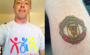 Manchester United Tattoo For a Manchester City Fan!
